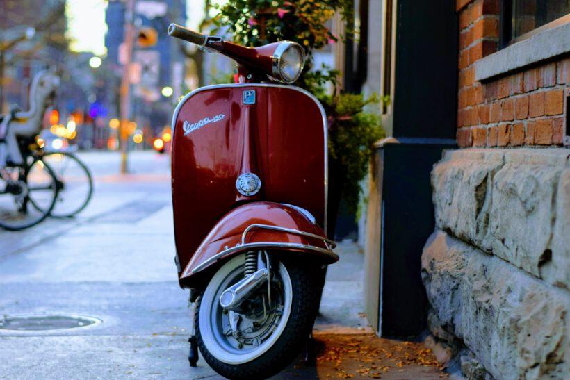 scooterongeluk